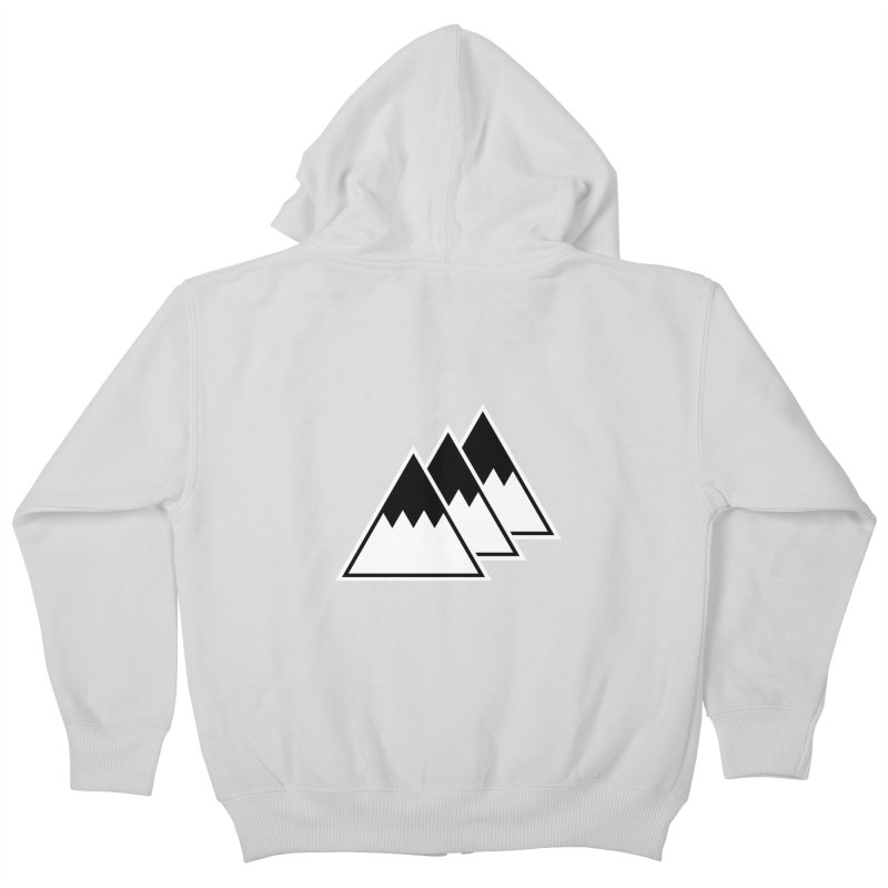 Alps Kids Zip-Up Hoody by WhileYouWereAway