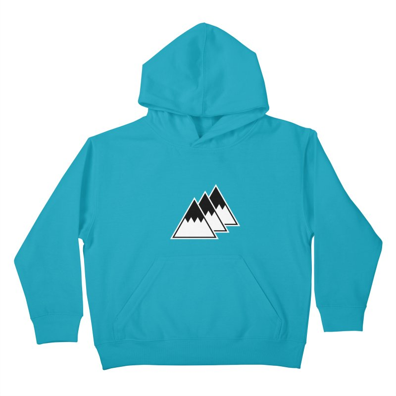 Alps Kids Pullover Hoody by WhileYouWereAway