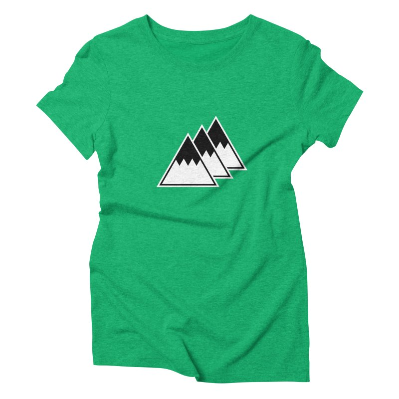 Alps Women's Triblend T-Shirt by WhileYouWereAway