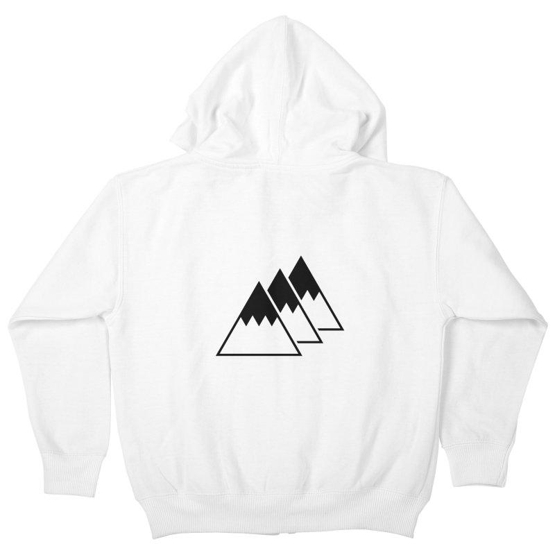 Alps Kids Zip-Up Hoody by WhileYouWereAway