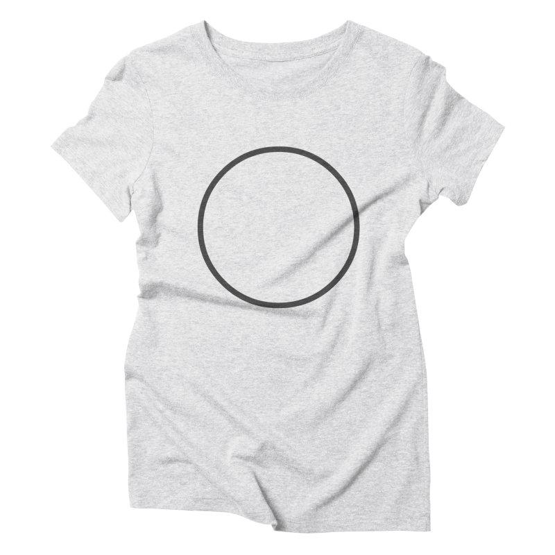 CRCL #17 Women's Triblend T-Shirt by WhileYouWereAway