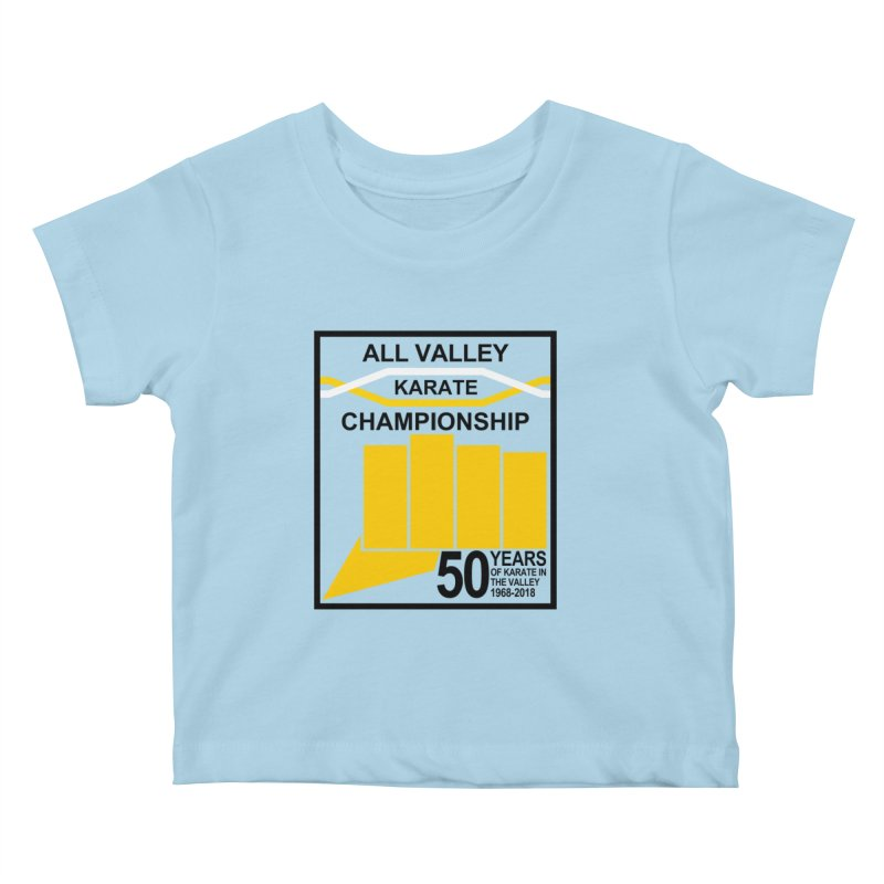 All Valley Championship Kids Baby T-Shirt by WhileYouWereAway