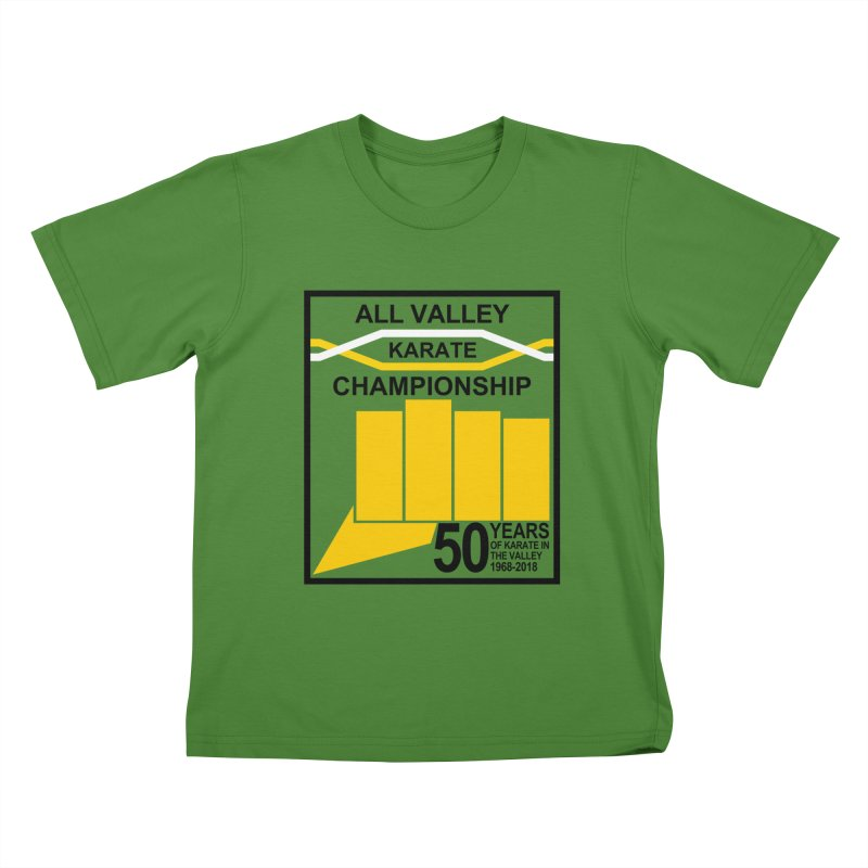 All Valley Championship Kids T-Shirt by WhileYouWereAway