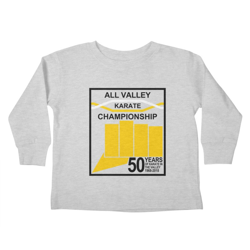 All Valley Championship Kids Toddler Longsleeve T-Shirt by WhileYouWereAway