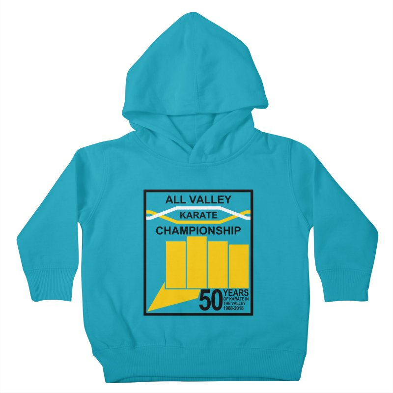 All Valley Championship Kids Toddler Pullover Hoody by WhileYouWereAway