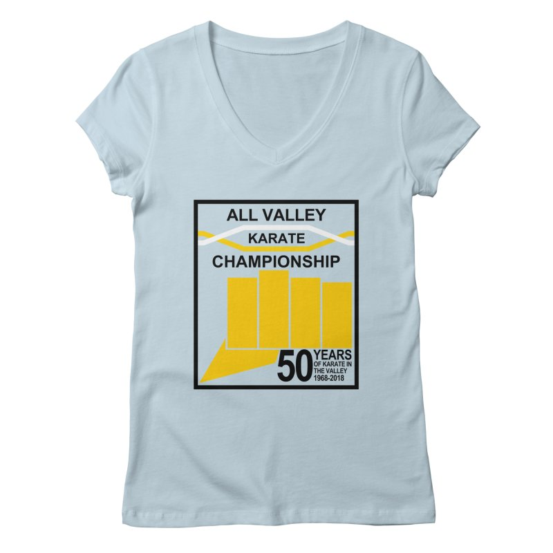 All Valley Championship Women's V-Neck by WhileYouWereAway