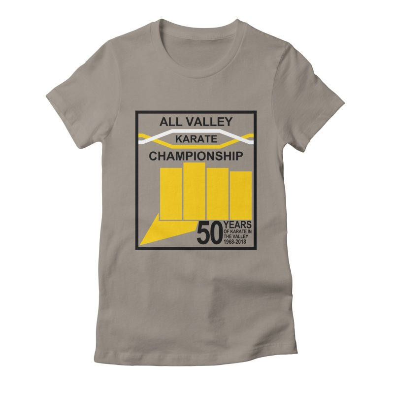 All Valley Championship Women's Fitted T-Shirt by WhileYouWereAway