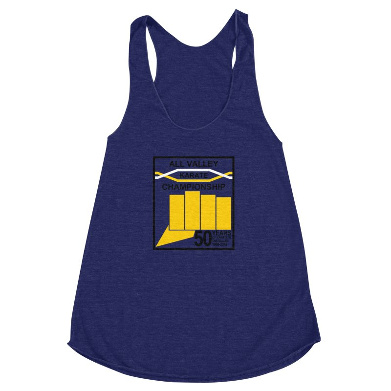 All Valley Championship Women's Racerback Triblend Tank by WhileYouWereAway