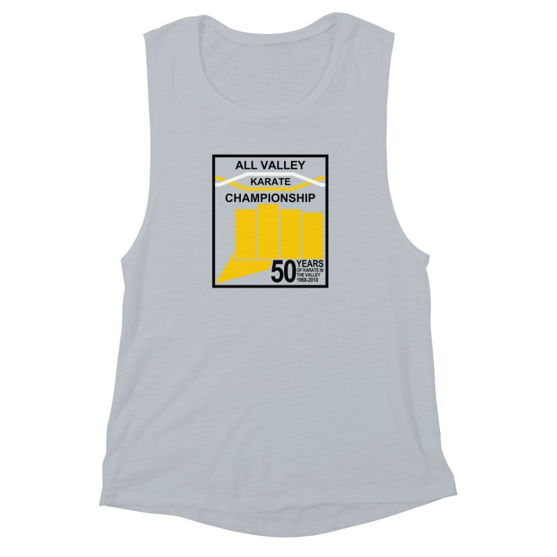 All Valley Championship Women's Muscle Tank by WhileYouWereAway