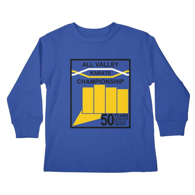 All Valley Championship Kids Longsleeve T-Shirt by WhileYouWereAway