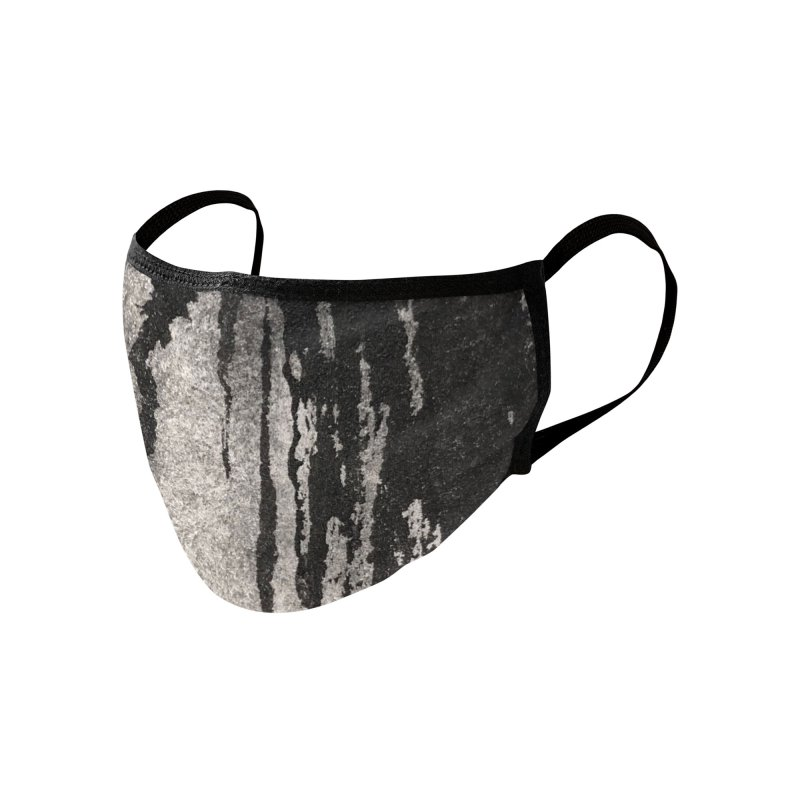 Bone Black Ink Accessories Face Mask by wwowly
