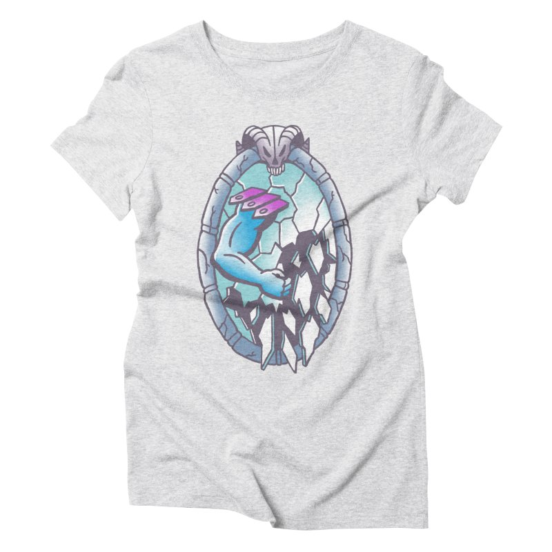 Skeletor leaves Women's Triblend T-Shirt by wwowly's Shop