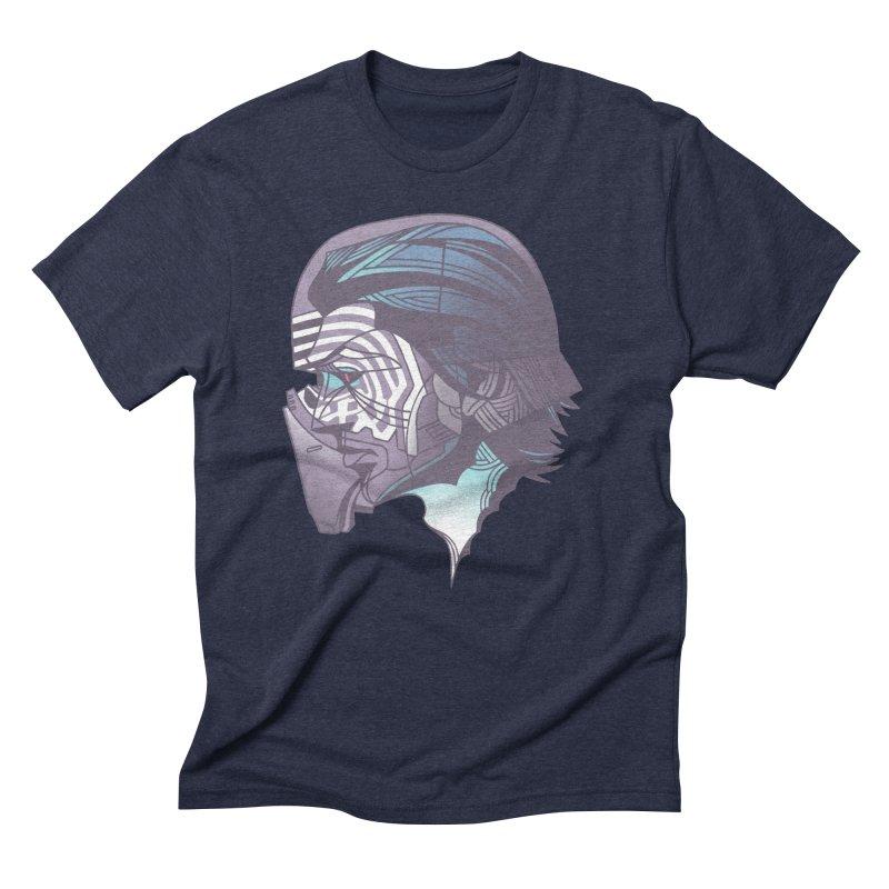 Kylo Ren X-Ray in Men's Triblend T-Shirt Navy by wwowly's Shop