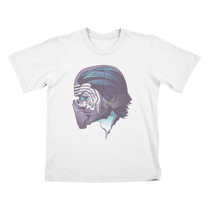 Kylo Ren X-Ray Kids T-Shirt by wwowly's Shop