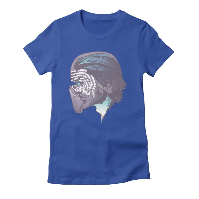 Kylo Ren X-Ray Women's Fitted T-Shirt by wwowly's Shop
