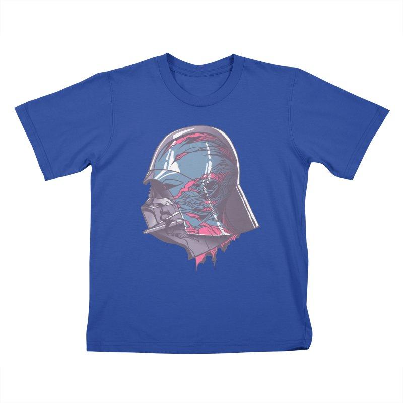 Darth Vader X-Ray Kids T-Shirt by wwowly's Shop