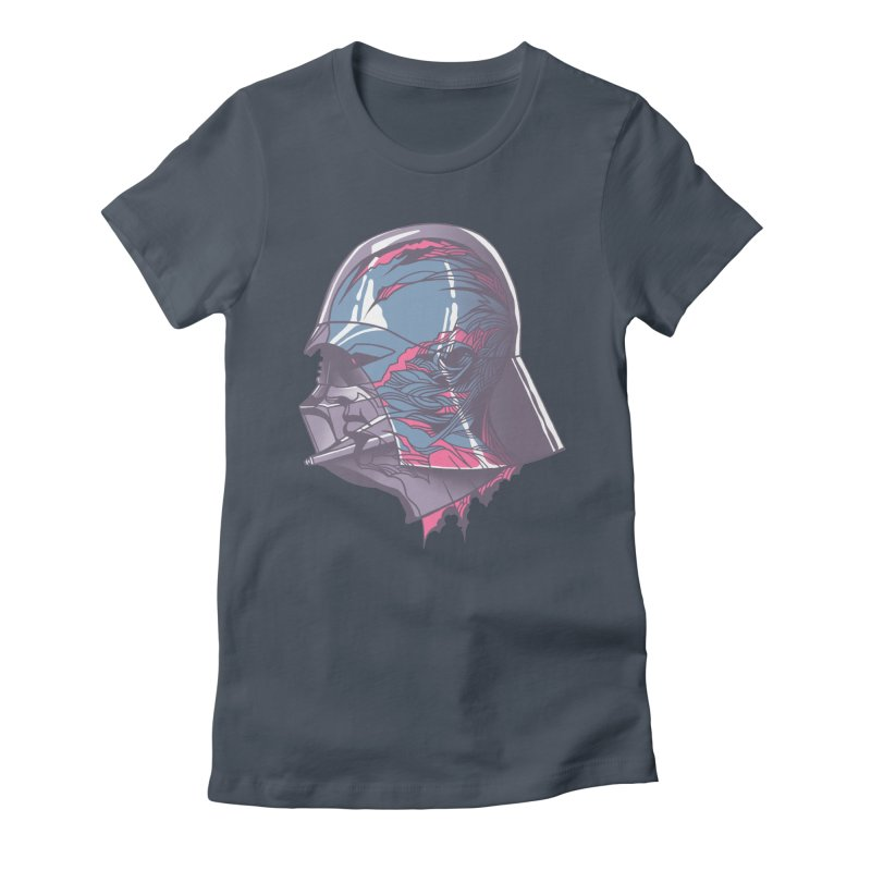 Darth Vader X-Ray Women's Fitted T-Shirt by wwowly's Shop