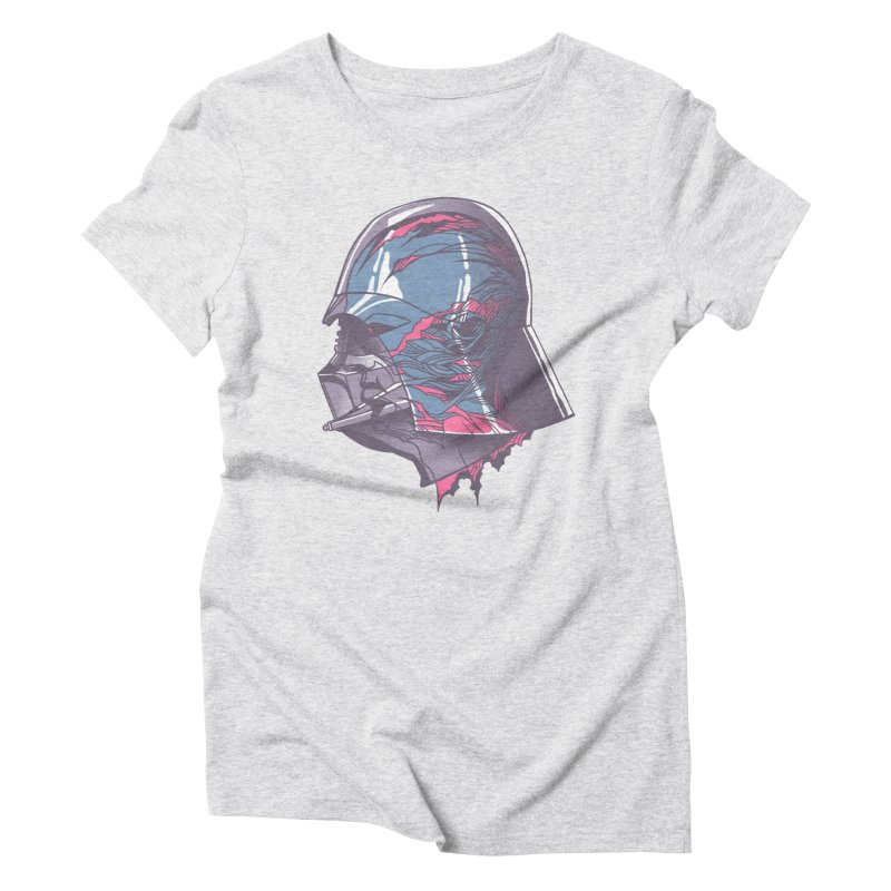 Darth Vader X-Ray Women's Triblend T-Shirt by wwowly's Shop