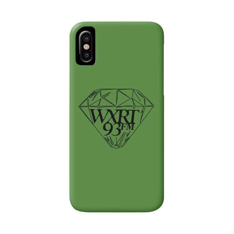 XRT Classic Diamond Tee Accessories Phone Case by 93XRT