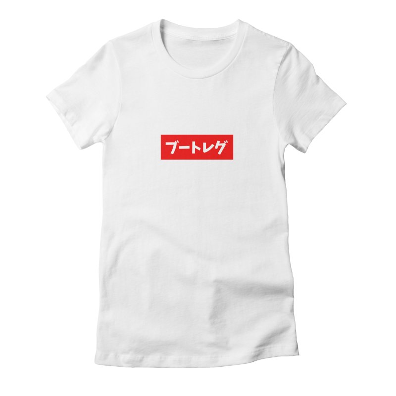 Bootleg Women's Fitted T-Shirt by wyel's Artist Shop