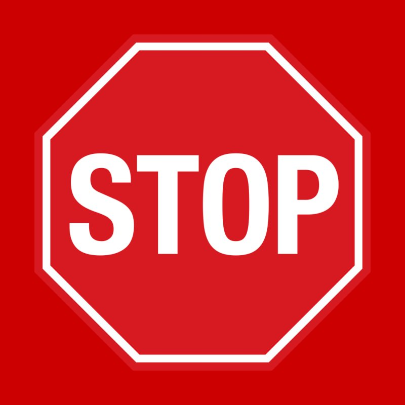 STOP sign Women's T-Shirt by Wylie Craft Co.