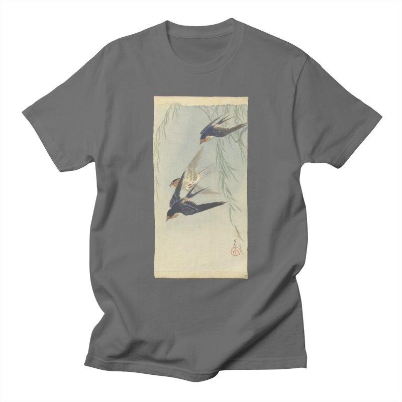 Three Birds in Flight Men's T-Shirt by Wylie Craft Co.