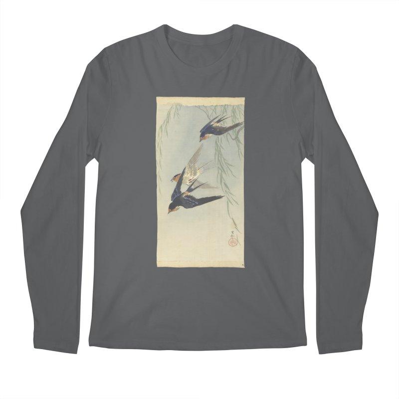 Three Birds in Flight Men's Longsleeve T-Shirt by Wylie Craft Co.