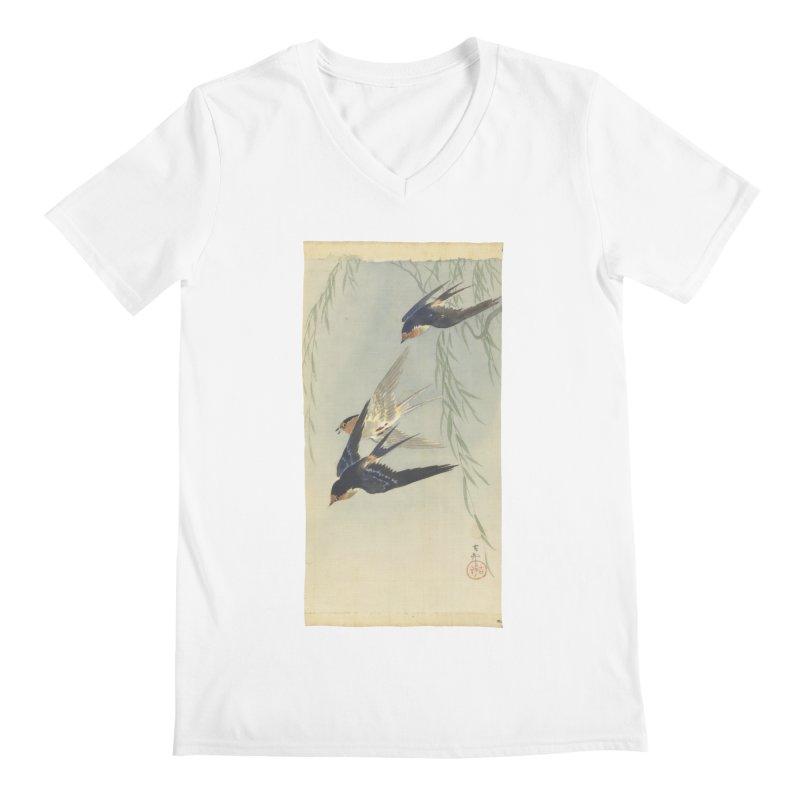 Three Birds in Flight Men's V-Neck by Wylie Craft Co.