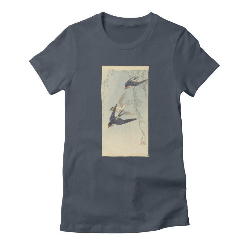 Three Birds in Flight Women's T-Shirt by Wylie Craft Co.