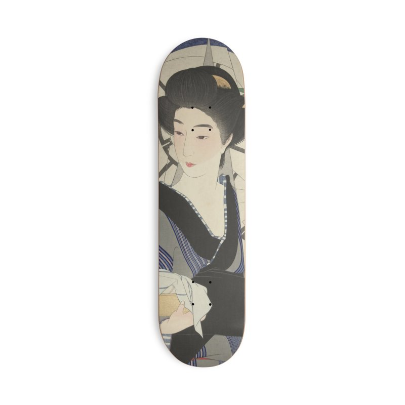 After visiting the bathhouse Accessories Skateboard by Wylie Craft Co.