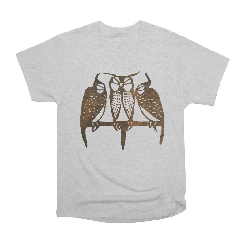 Three Sleeping Owls Men's T-Shirt by Wylie Craft Co.