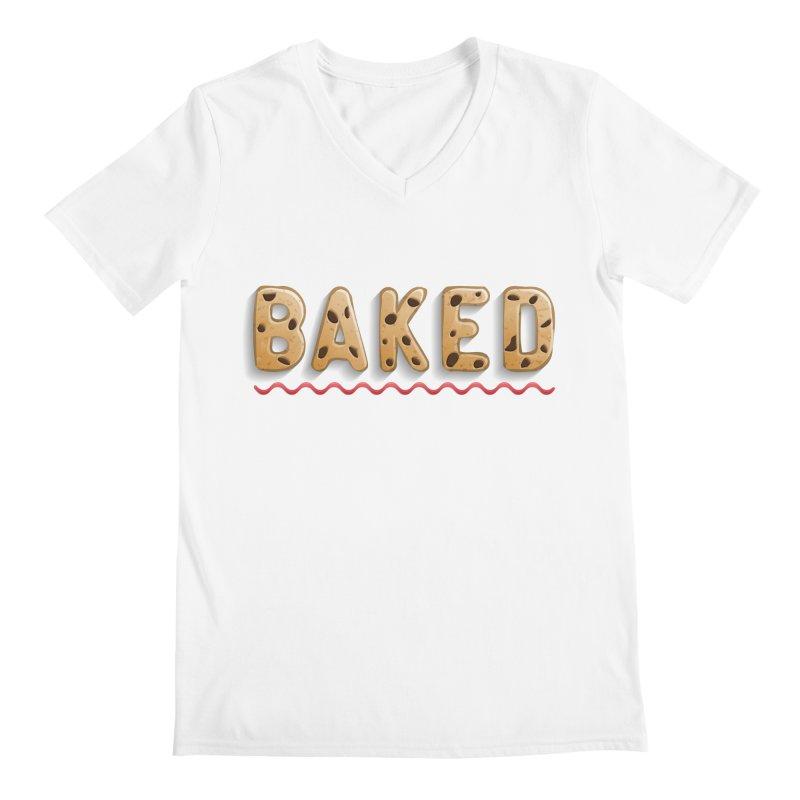 BAKED Men's V-Neck by Wylie Craft Co.