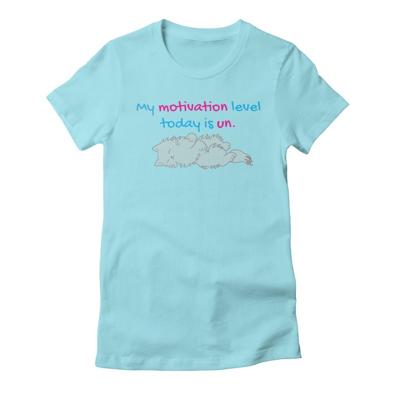 Motivation Level Women's T-Shirt by Wylie Craft Co.