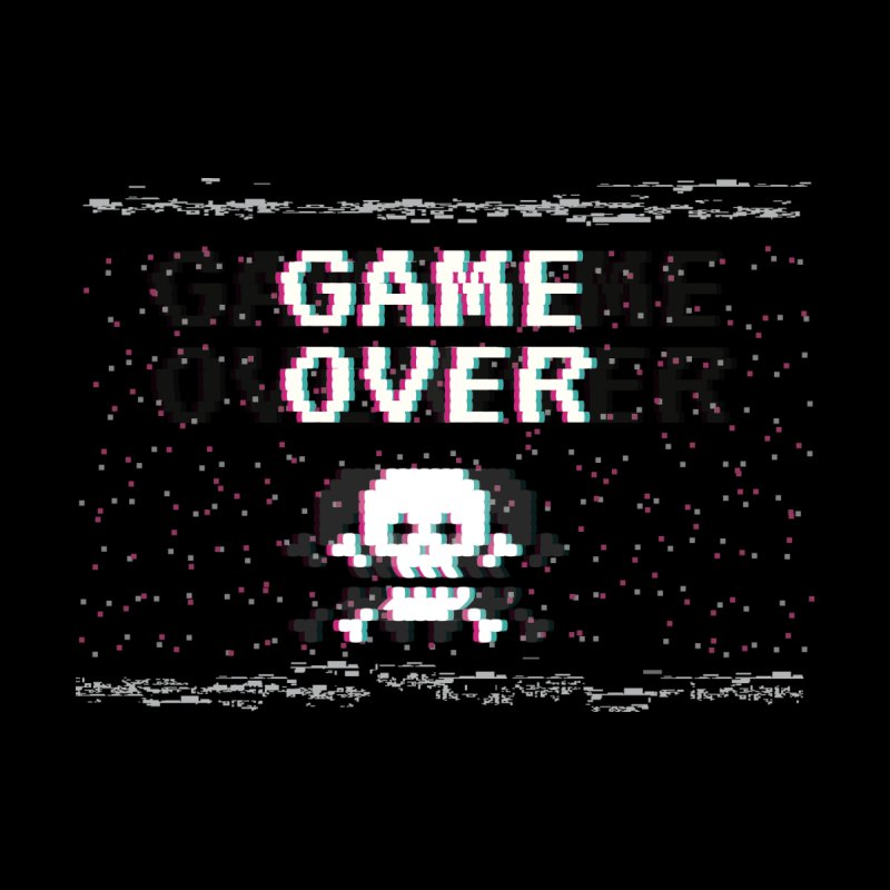 Game Over Women's V-Neck by Wylie Craft Co.