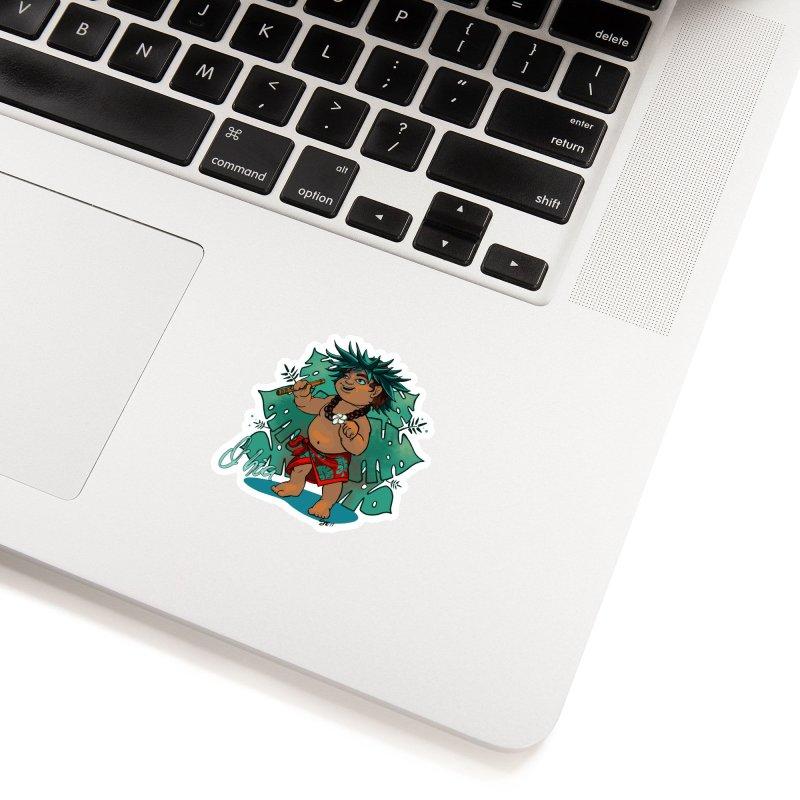 O'hia Accessories Sticker by Michelle Wynn's Artist Shop