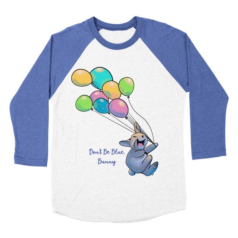 Happy Balloons Women's Baseball Triblend Longsleeve T-Shirt by Michelle Wynn's Artist Shop