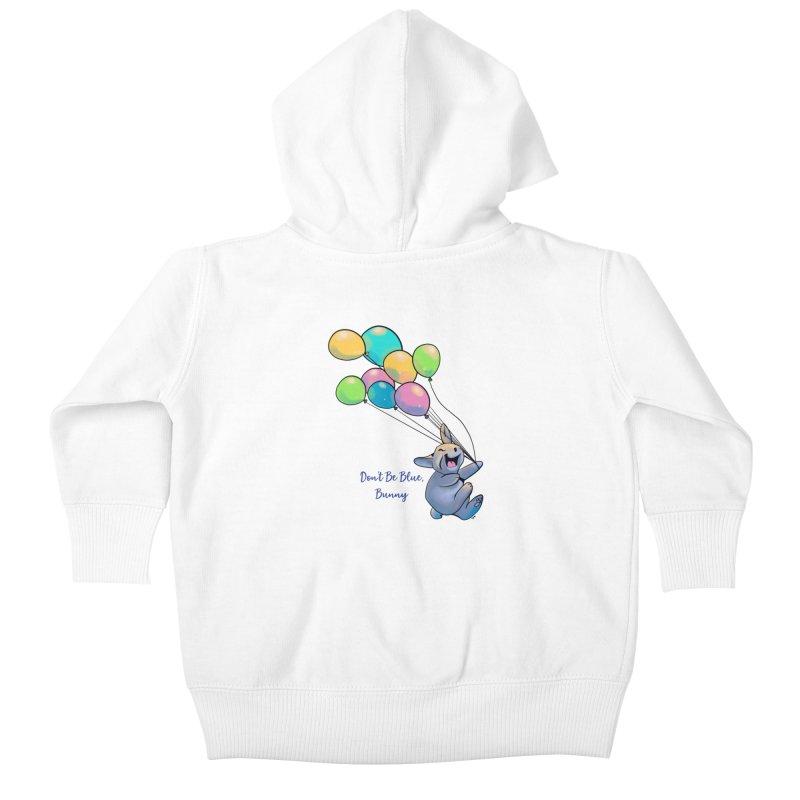 Happy Balloons Kids Baby Zip-Up Hoody by Michelle Wynn's Artist Shop