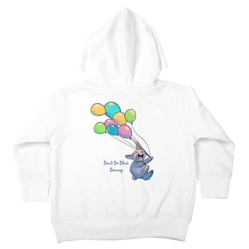 Happy Balloons Kids Toddler Zip-Up Hoody by Michelle Wynn's Artist Shop