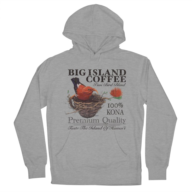 Big Island Coffee Women's French Terry Pullover Hoody by Michelle Wynn's Artist Shop