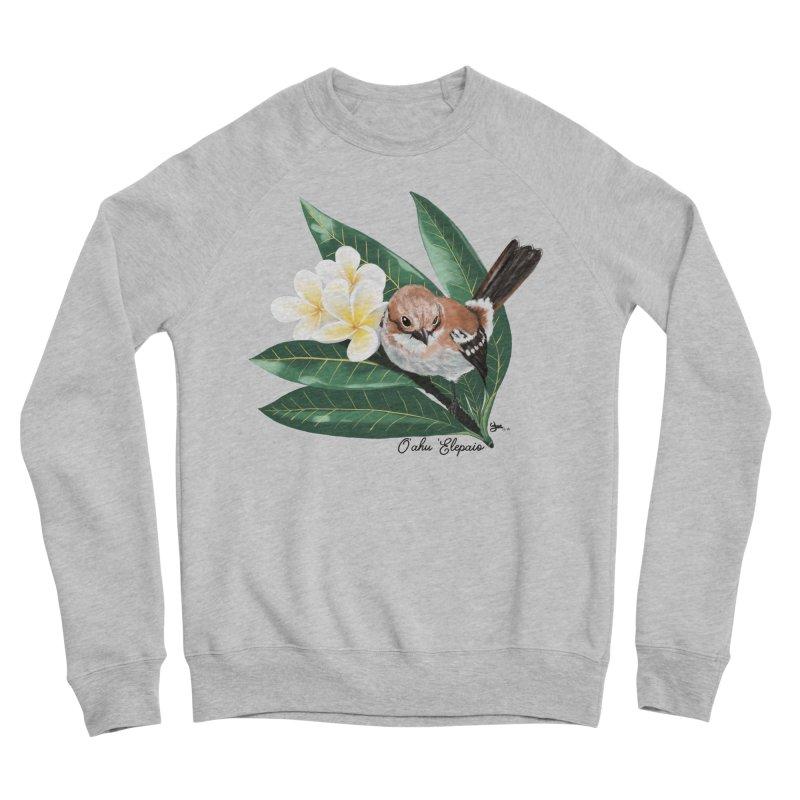 Oahu Elepaio Women's Sponge Fleece Sweatshirt by Michelle Wynn's Artist Shop
