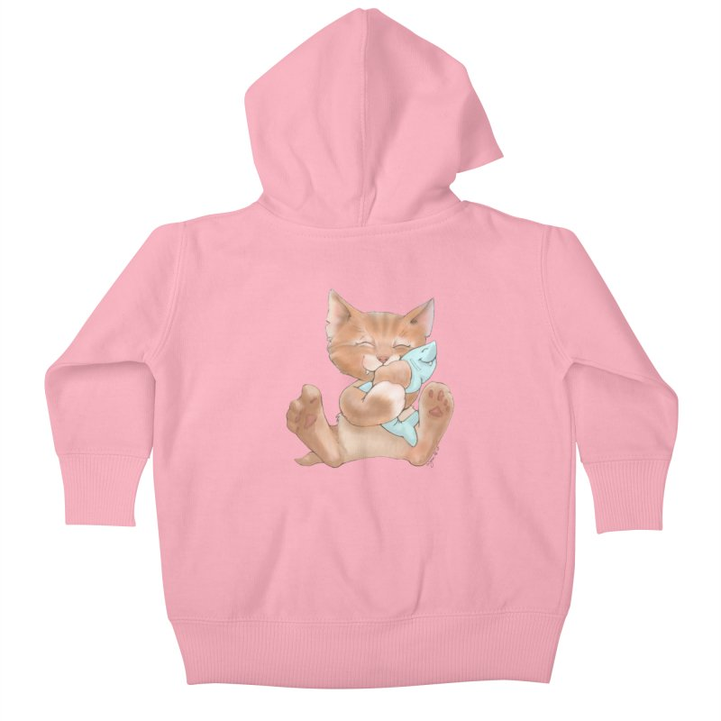 Sometimes You Just Need A Hug Kids Baby Zip-Up Hoody by Michelle Wynn's Artist Shop