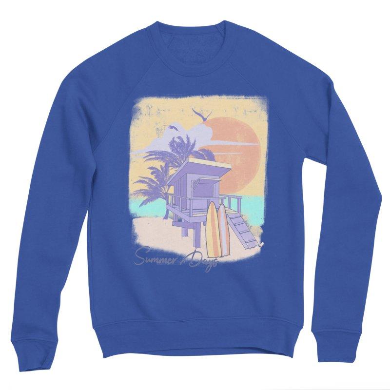 Summer Days Women's Sponge Fleece Sweatshirt by Michelle Wynn's Artist Shop