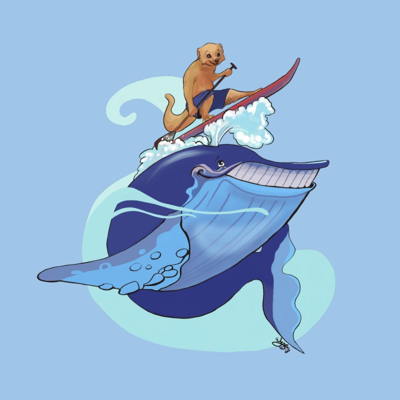 Surf's Up! Men's T-Shirt by Michelle Wynn's Artist Shop