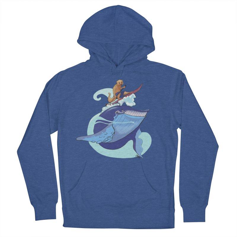 Surf's Up! Men's Pullover Hoody by Michelle Wynn's Artist Shop
