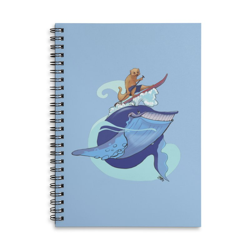 Surf's Up! Accessories Lined Spiral Notebook by Michelle Wynn's Artist Shop