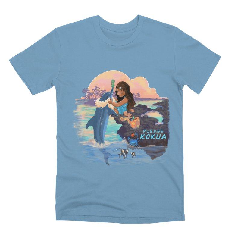 Beach Clean-up Men's Premium T-Shirt by Michelle Wynn's Artist Shop