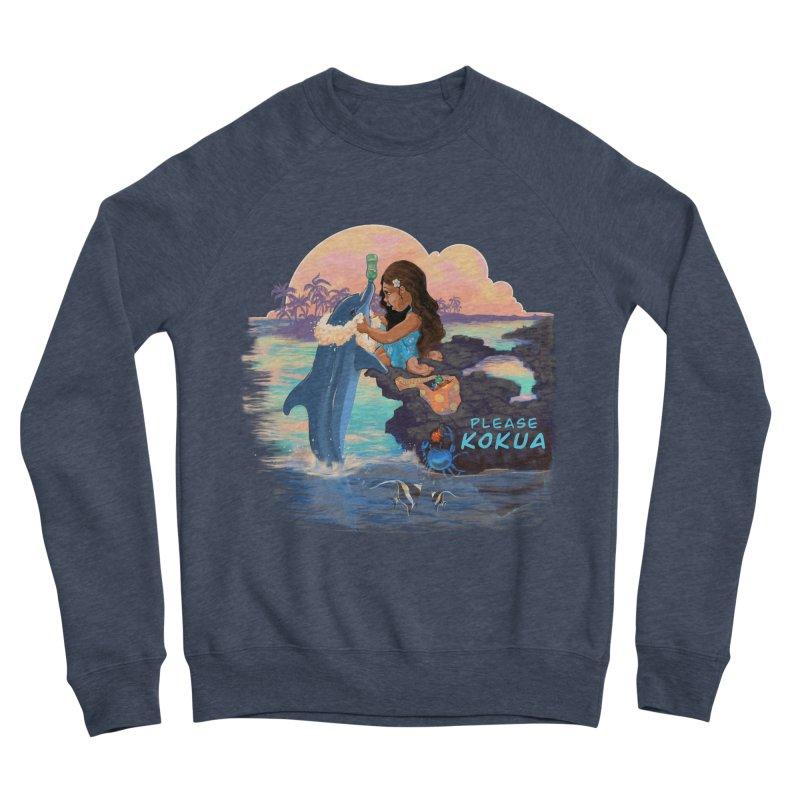 Beach Clean-up Women's Sponge Fleece Sweatshirt by Michelle Wynn's Artist Shop