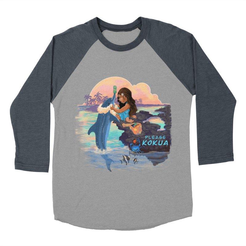 Beach Clean-up Women's Baseball Triblend Longsleeve T-Shirt by Michelle Wynn's Artist Shop
