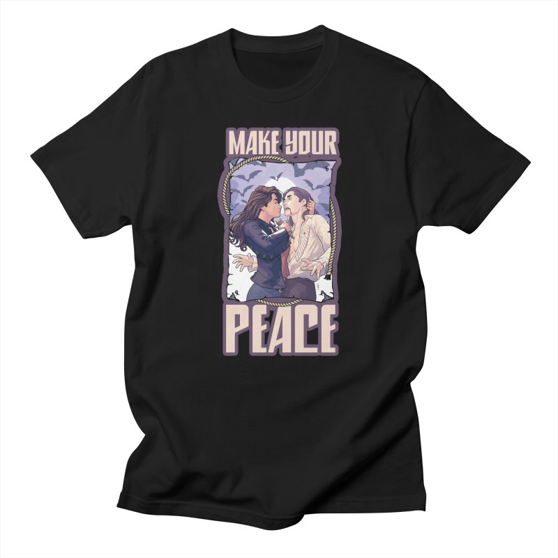 Make Your Peace Men's T-shirt by wynonnaearp's Artist Shop
