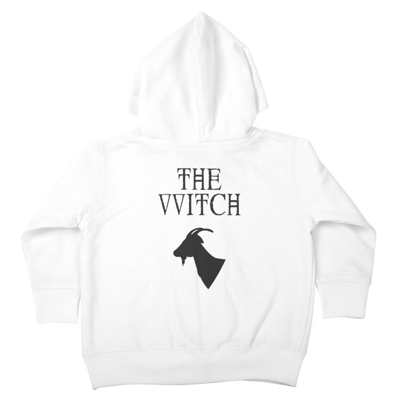 The VVitch Kids Toddler Zip-Up Hoody by True To My Wyrd's Artist Shop